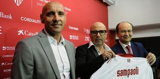 Sevilla hareket geçti