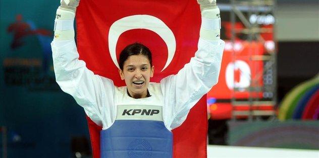 Turkish athlete wins gold medal in S. Korea