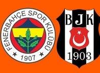 İşte Fenerbahçe-Beşiktaş maçının 11'leri