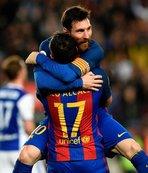 Messi'den 2 gol 1 asist!