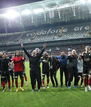 Yeni Malatyaspor Vodafone Arena'yı sevdi!