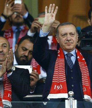 Cumhurbaşkanı Erdoğan'dan destek