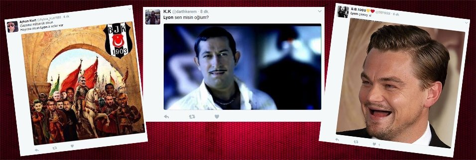 Beşiktaş, Lyon'la eşleşti, twitter yıkıldı