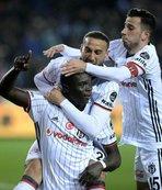 Beşiktaş Trabzonspor'u yıktı