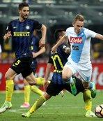 Napoli deplasmanda Inter'i 1-0 mağlup etti