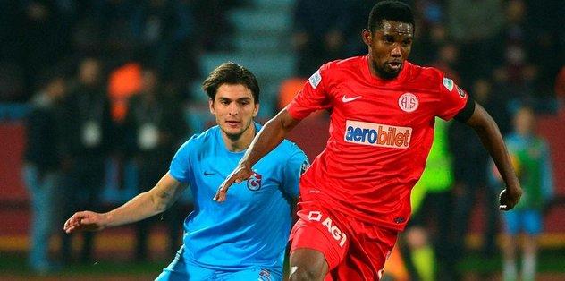 Antalya ile 6 puanlık maç