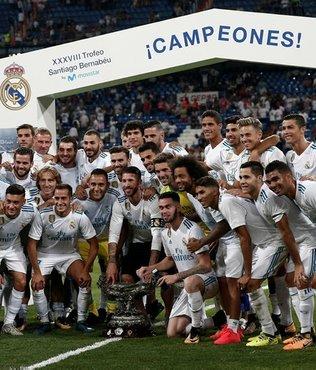 Santiago Bernabeu Kupası, R. Madrid'in