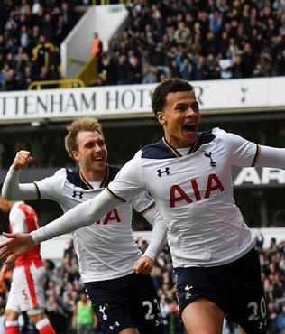 Tottenham, Arsenal'e şans tanımadı