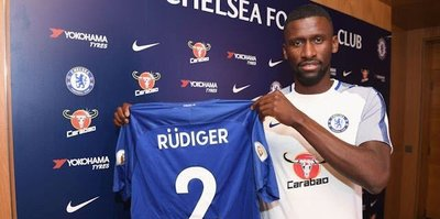 Chelsea, Rüdiger'i transfer etti
