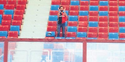 Trabzon'da tek başına!
