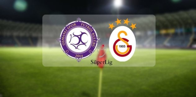 Osmanlıspor - Galatasaray | CANLI
