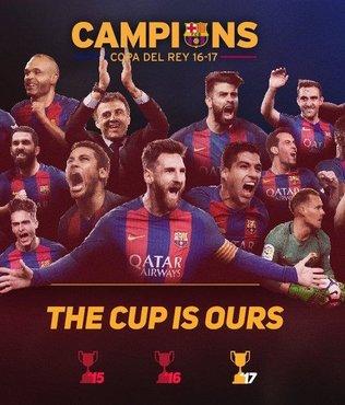 İspanya Kral Kupası Barcelona'nın