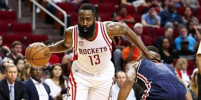 Harden, Rockets tarihine geçti