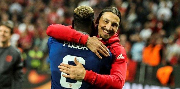 Ibrahimovic United'dan ayrılıyor!