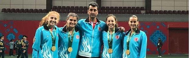 Bakü'de iki altın madalya daha!
