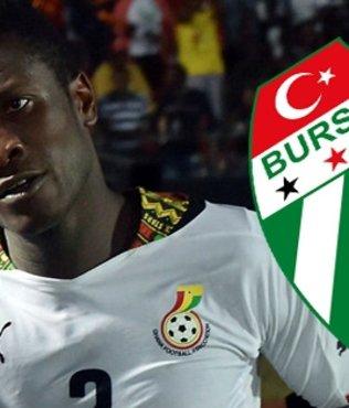 Gyan cephesinden Bursaspor'a cevap