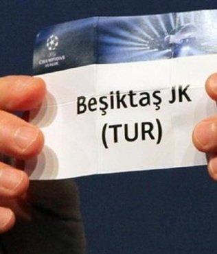 Beşiktaş'ın Şampiyonlar Ligi'ndeki muhtemel rakipleri