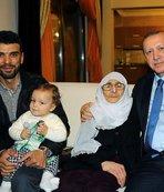 Erdoğan'dan Sofuoğlu'na ziyaret