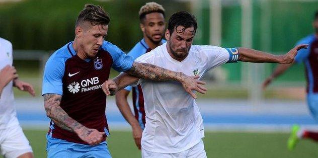 Trabzonspor Slovakya'da kayıp