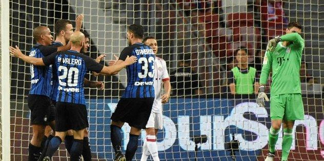 Inter, Bayern'i devirdi: 2-0