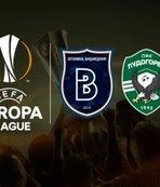 Başakşehir Avrupa Ligi ilk grup maçına çıkıyor