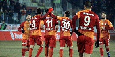 Galatasaray'ın Karabükspor kadrosu belli oldu