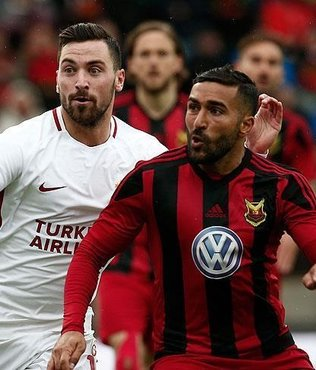 G.Saray take on Östersunds in UEFA Europa League