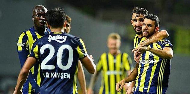 Fenerbahce take on Mourinho's United