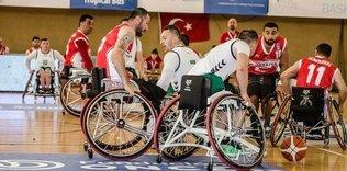 Basketbol: Tekerlekli Sandalye Avrupa Şampiyonası