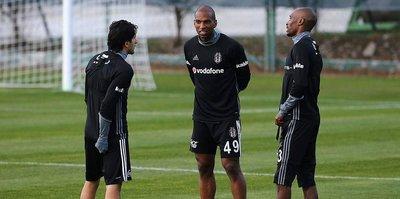 Babel, Beşiktaş'ta ilk antrenmanına çıktı
