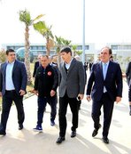 Demirören ve Terim'den Antalyaspor'a ziyaret