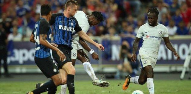 Inter, Chelsea'yi 2-1 devirdi