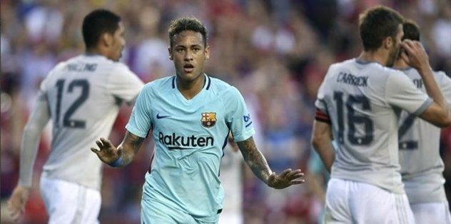 Neymar attı Barça kazandı