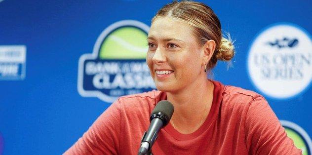 Sharapova 'wild card' ile ABD Açık'a katılacak