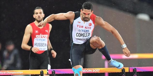 Turkish sprinter wins silver at world championships