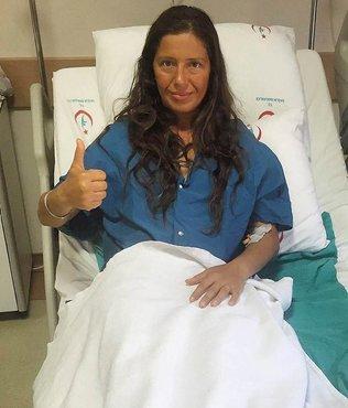 Milli dalg�� Derya Can ameliyat edildi