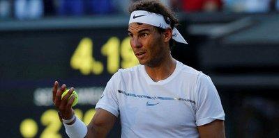 Rafael Nadal Wimbledon'a veda etti