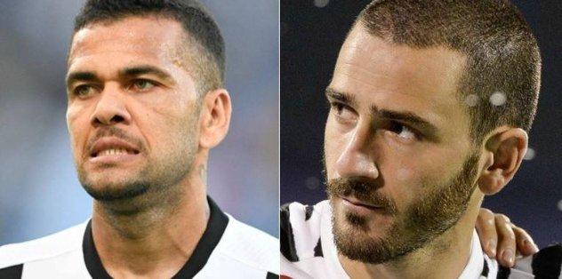 """""""Bonucci, Dani Alves'in boğazına sarıldı"""""""