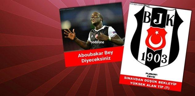 Beşiktaş kazandı, caps'ler patladı!