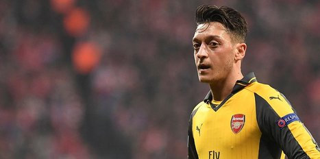 Çin'de Mesut Özil sevgisi