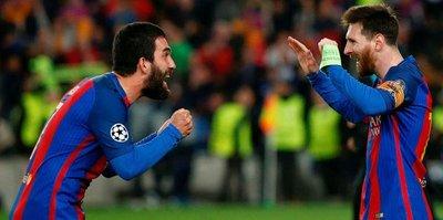 Arda'dan Messi paylaşımı
