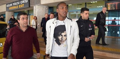 Rodallega, Trabzon'a geldi