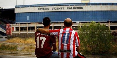 Atletico, Vicente Calderon'a veda etti