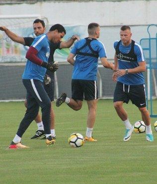 Trabzonspor, F.Bahçe hazırlıklarını sürdürdü