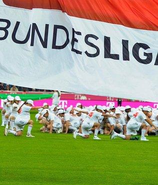 Bundesliga'da heyecan ba�l�yor