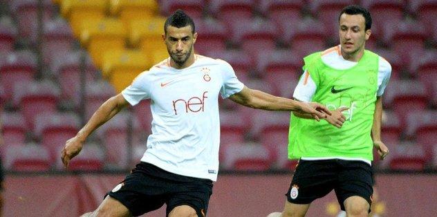 Galatasaray'da Kayserispor maçı hazırlıkları sürdü
