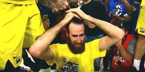 Şampiyonluk geldi, saçlar gitti!