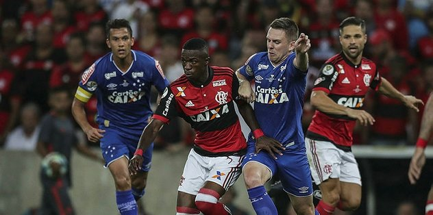 Flamengo ve Cruzeiro yenişemedi