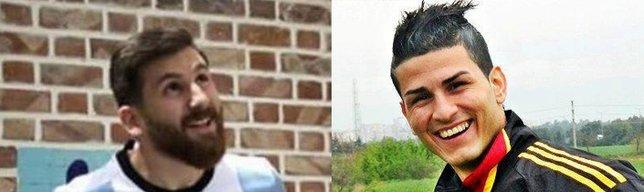 Dünyaca ünlü futbolcuların benzerleri