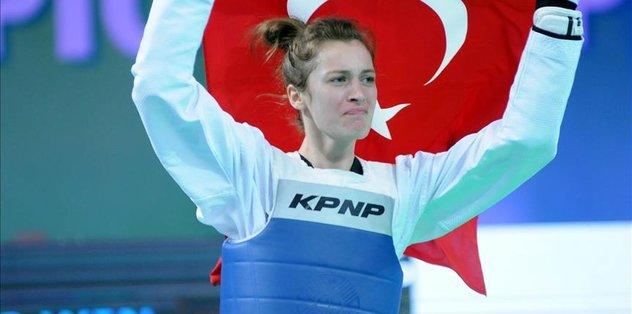 Turkey's Agris bags gold in women's Taekwondo